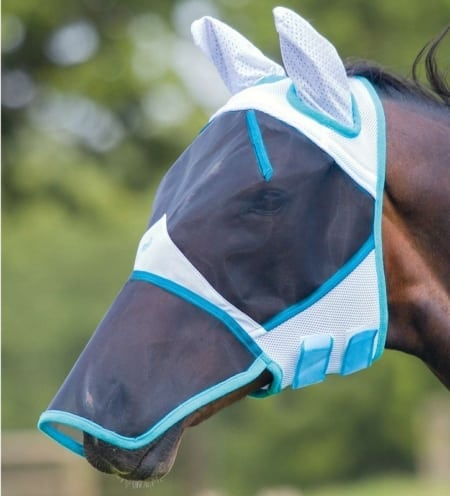 Bridleway Fly Mask Full Face with Nose and Ears