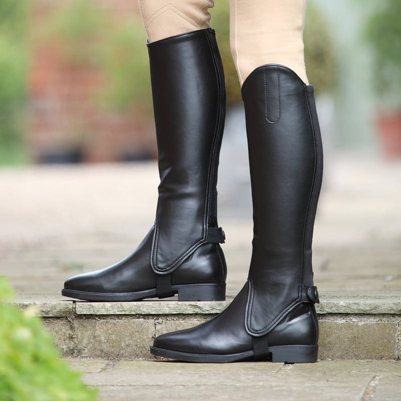 Shires Synthetic Gaiter – Black
