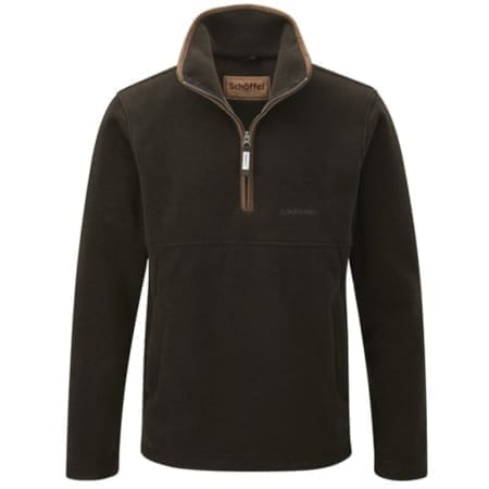 Schoffel Berkeley 1/4 Zip - Dark Olive