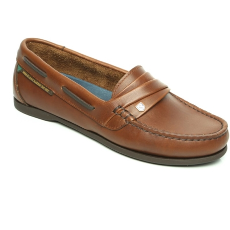 6867fe5f949f6 Dublin Broadfield Arena Shoes in Brown/Chestnut - Wadswick Country ...