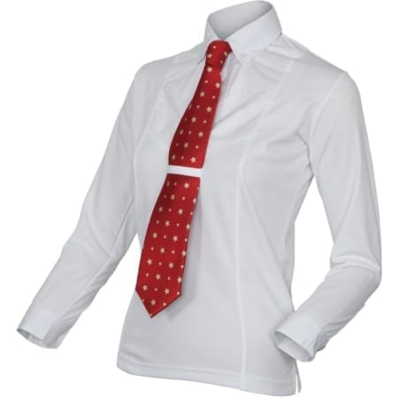 Shires Long Sleeve Childs Tie Shirt
