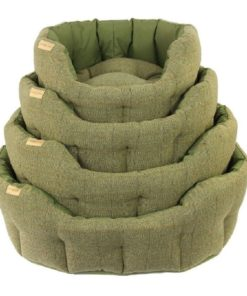 Earthbound Traditional Tweed Waterproof Dog Bed