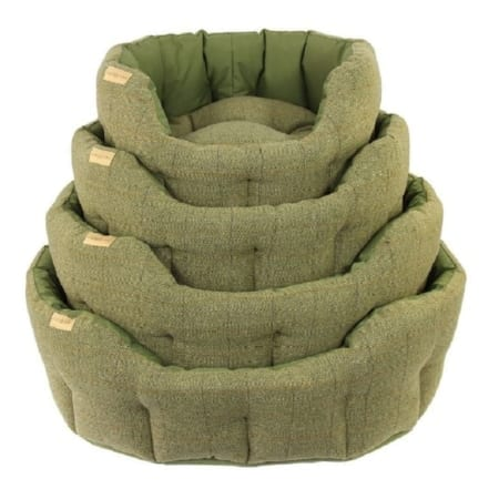 Earthbound Traditional Tweed Waterproof Dog Bed