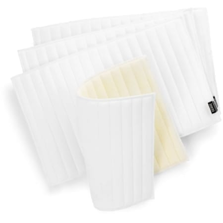 "Shires Set of Felt Bandage Pads, White 11"" x 16"""