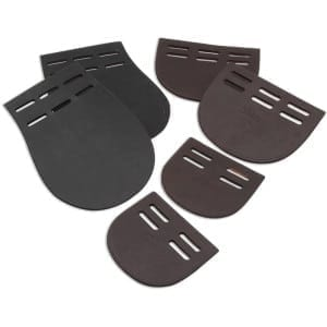 Shires Girth Buckle Guard, Brown