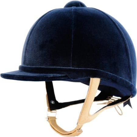 Charles Owen Showjumper XP - Navy