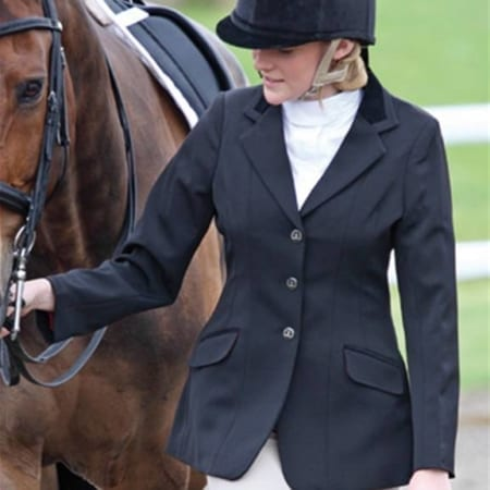 Bridleway Maids Stretch Lightweight Show Jacket