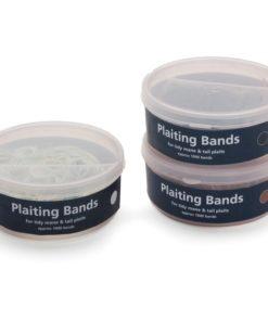 Shires Tub of Plait Bands, Black