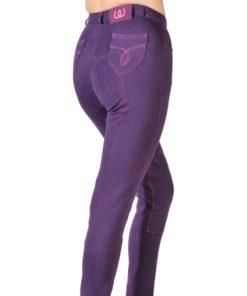 Bridleway Banbury Jodhpurs Purple/Pink