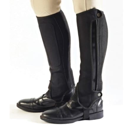 Bridleway Amara Half Chaps Child - Black