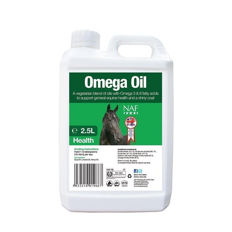 NAF Omega Oil - 2.5 Litres