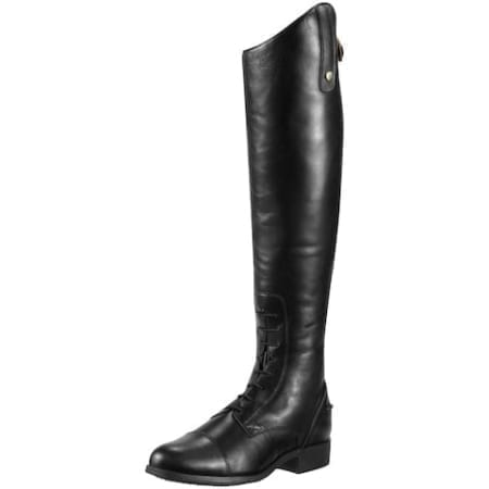 Ariat Heritage Contour Field Zip Ladies Boot - Black