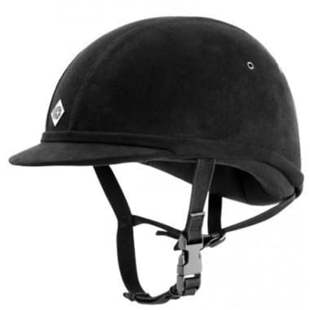Charles Owen All Black YR8 Hat