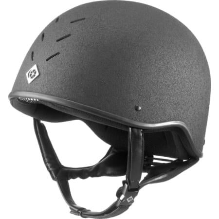 Charles Owen 4 Star Jockey Helmet - Black