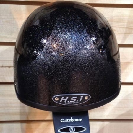 Gatehouse HS1 Jockey Skull - Black Special Edition