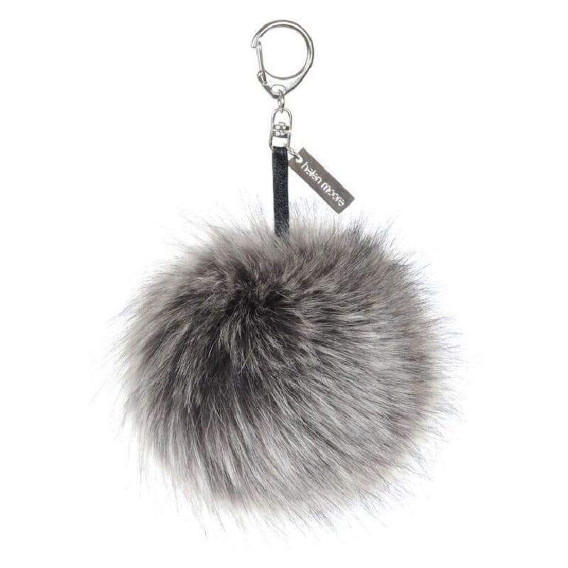 Helen Moore Faux Fur Pom Pom Keyring d241048630035