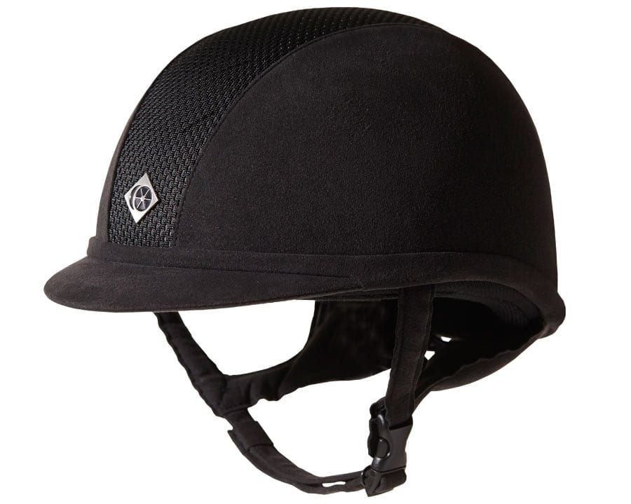 Charles Owen AYR8 Riding Hat – Black