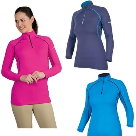 Shires AIR DRI Cross Country Shirt, Ladies