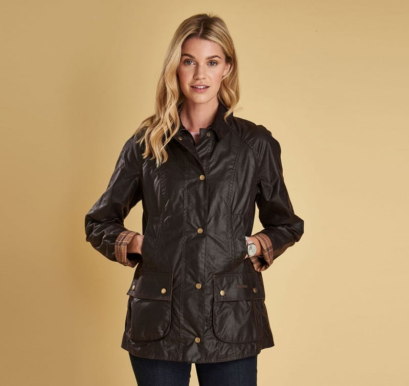 Barbour Beadnell Waxed Jacket Sage Wadswick Country