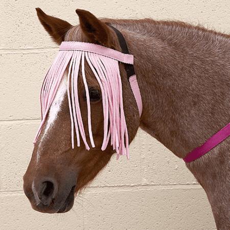 fly fringe pink