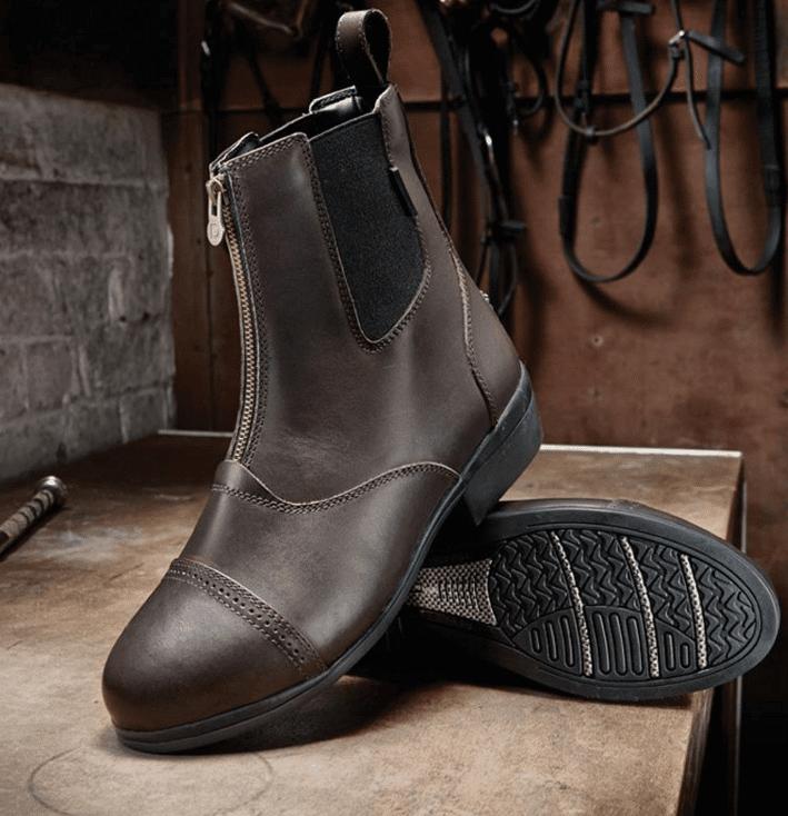 Dublin Apex Zip Leather Jodhpur Boot Wadswick Country