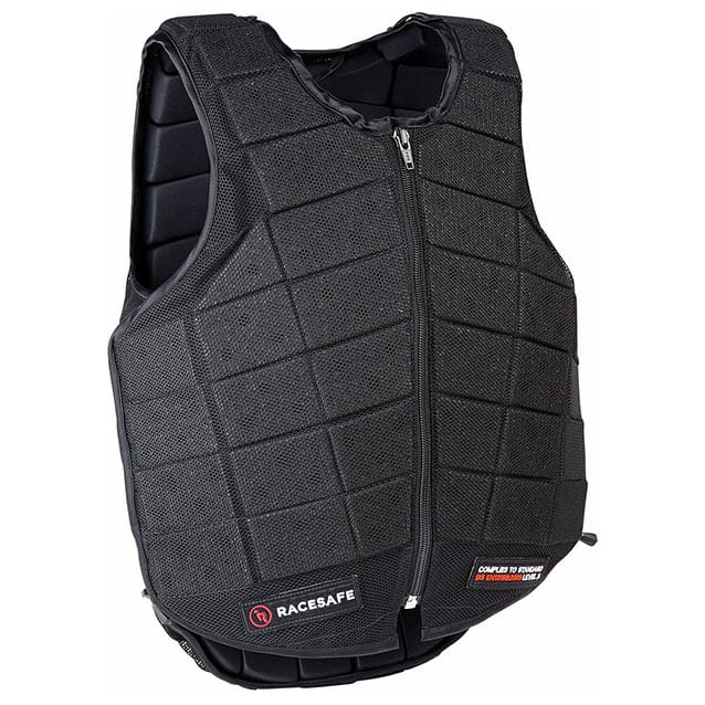 Racesafe Provent 3.0 Body Protector, Adult – Black