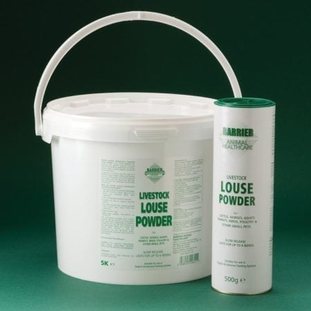 8470+8472 - Barrier - Livestock Louse Powder-Group