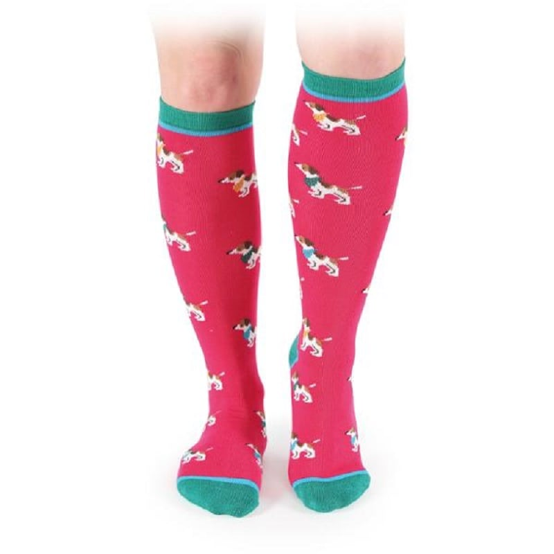 Pink Cow Shires Everyday Knee High Socks
