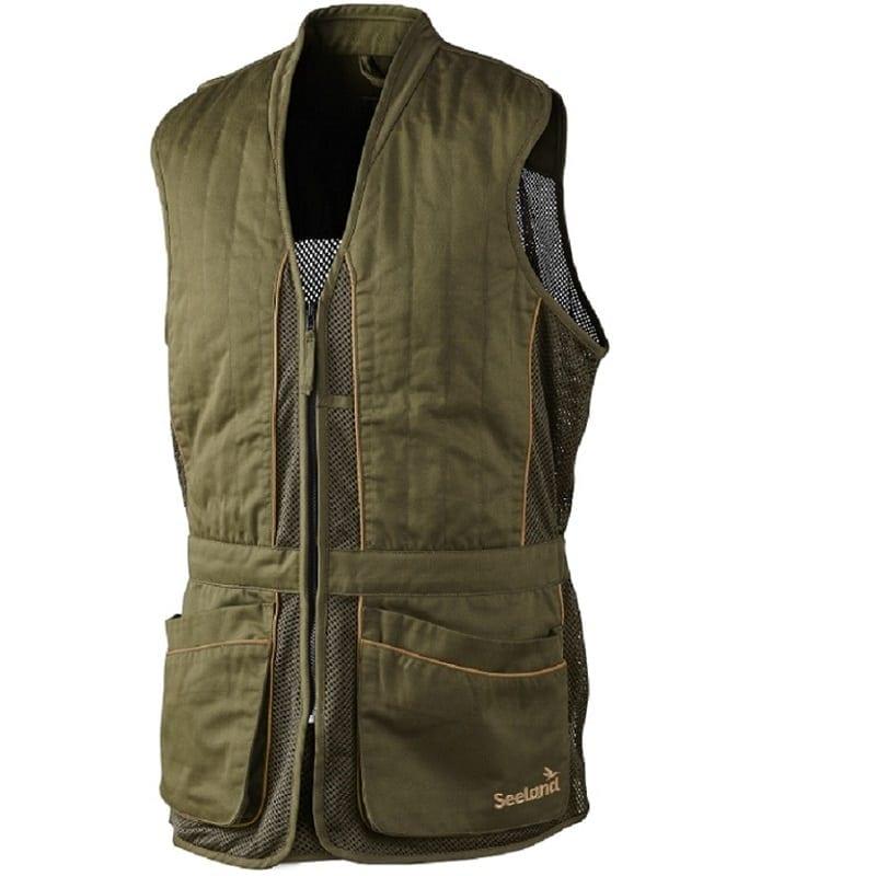 947f9fa99c75a Seeland Skeet Shooting Waistcoat, Duffel Green - Wadswick Country Store Ltd
