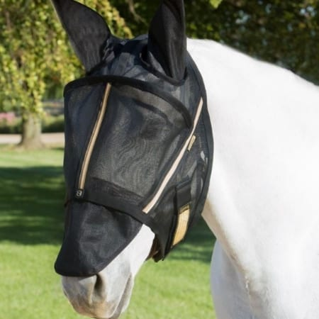 Guardsman Fly Mask With Ears, Noble Gold