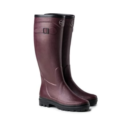 Le Chameau Giverny Cotton Boot