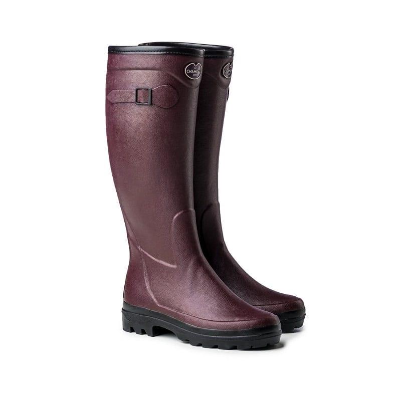 Le Chameau Giverny Cotton Boot
