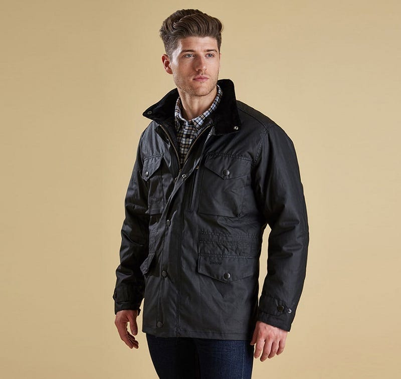 Barbour Sapper Jacket >> Barbour Sapper Waxed Mens Jacket Wadswick Country Store Ltd