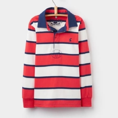 Joules Junior Woodrow Rugby Shirt