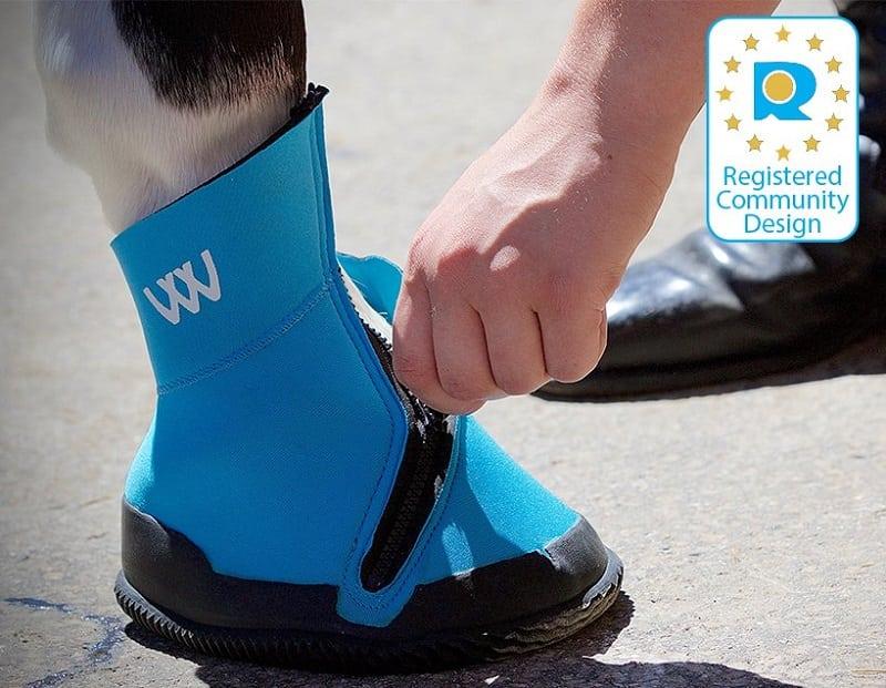 Woofwear Medical Hoof Boot Blue
