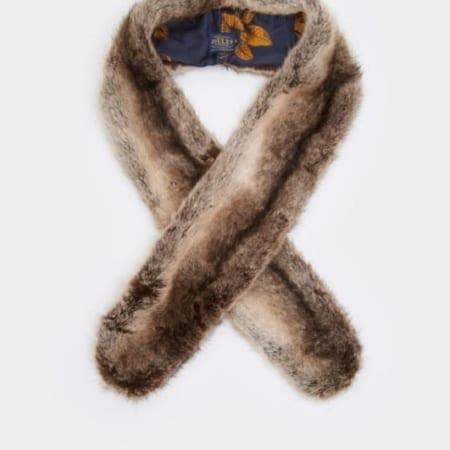 collette faux fur scarf