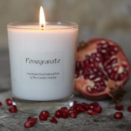 Box Candle Pomegranate Candle