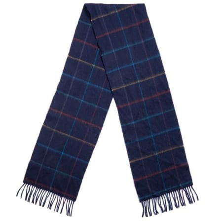 Barbour Newmarket Plaid Lambswool Scarf