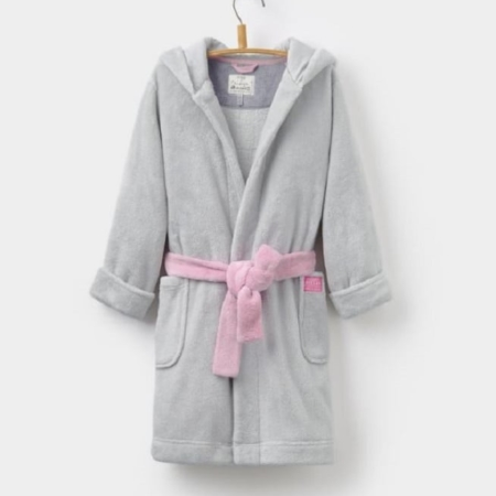 Joules Junior Nay Character Dressing Gown, Girls