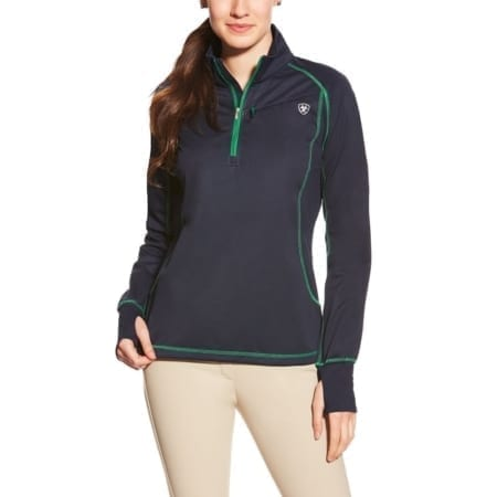 Ariat Bryone 1/4 Zip Jumper, Navy