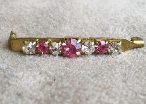 Equiture Diamante Stock Pin