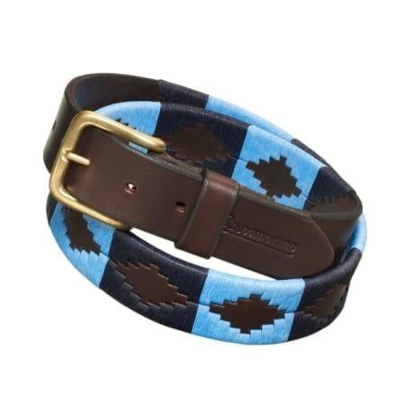Pampeano Polo Belt, Azules