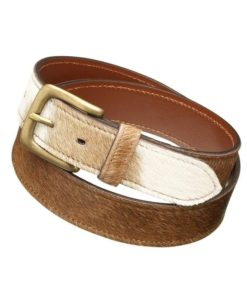 Pampeano Cowhide Leather Belt