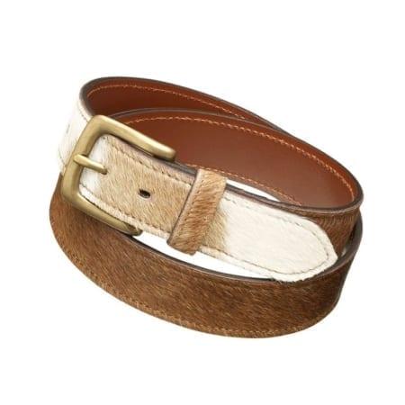 Pampeano Cowhide Leather Belt