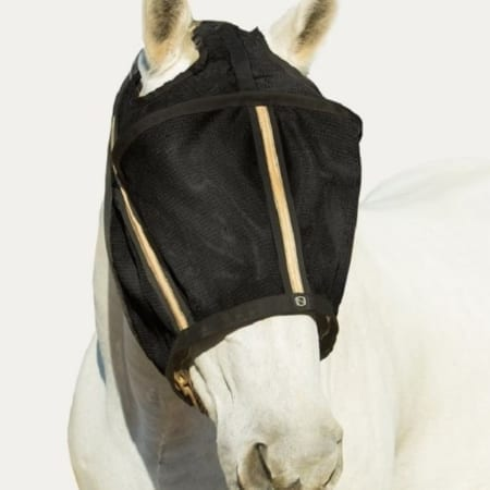 Guardsman Fly Mask No Ears, Black