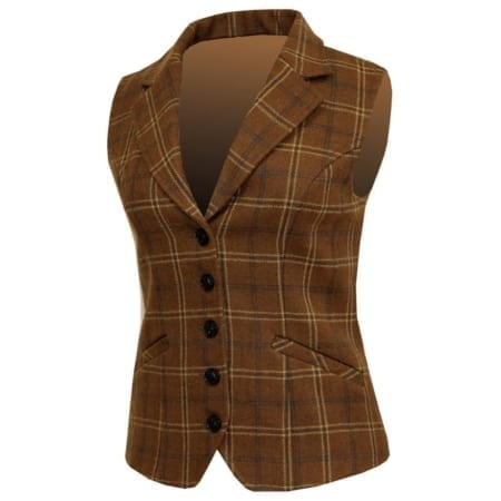 Equetech Marlow Tweed Laped Waistcoat