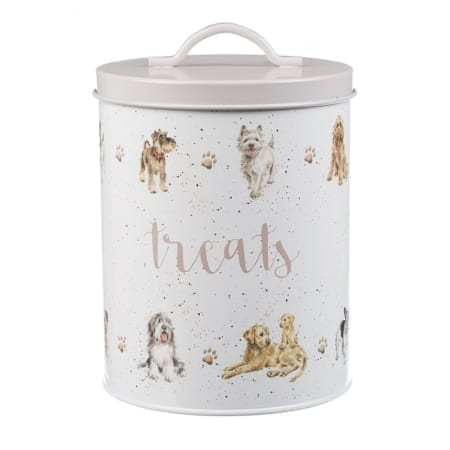 Wrendale Dog Treats Tin