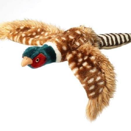 House of Paws Large Plush Pheasant, Dog Toy