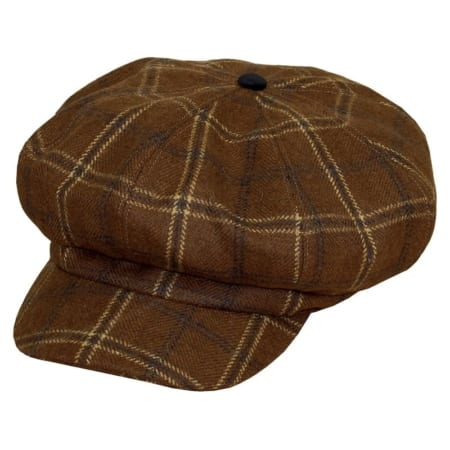 Equetech Marlow Baker Boy Tweed Cap