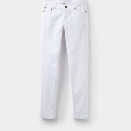 Joules Monroe Stretch Denim Jean, Bright White
